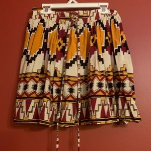 Wet seal Aztec skirt size small